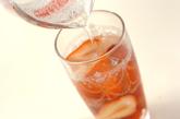 ワイン漬けイチゴドリンクの作り方1