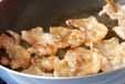 豚バラ肉の卵とじの作り方1