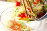 豚肉と野菜の炒め物の作り方9