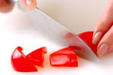 豚肉と野菜の炒め物の下準備5