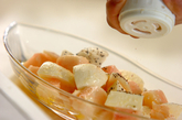 桃のカプレーゼの作り方3
