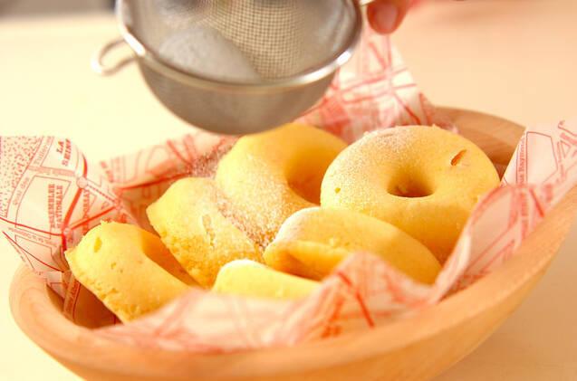 レンジでもちもちドーナツの作り方の手順5