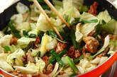 豚ニラ炒めの作り方3