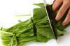 ホウレン草と豆腐のサラダの作り方の手順1