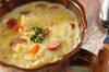 ベジタブルミルクスープの作り方の手順