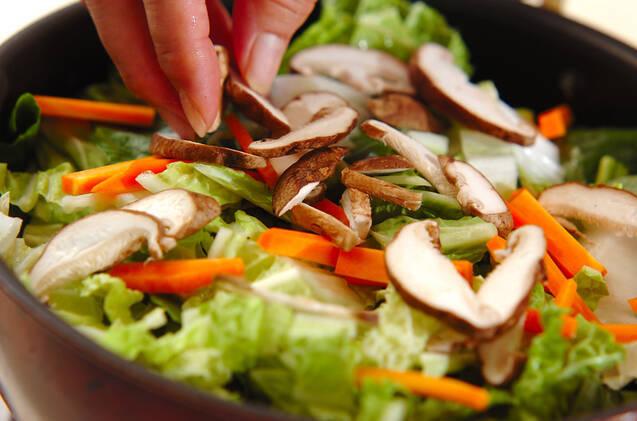 ツナ缶と白菜の煮物の作り方の手順5