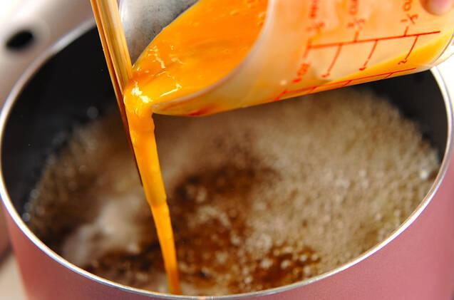 ふんわり卵のかきたま汁の作り方の手順4