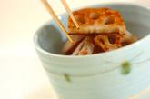 レンコンのシンプル炒めの作り方2