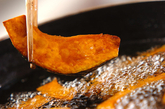 エビと夏野菜の揚げ南蛮の作り方1