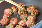 肉団子入り野菜カレーの作り方4