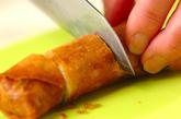 春キャベツとレンコンの巻き揚げの作り方4