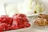 皿盛りすき焼きの作り方の手順1