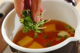 卵豆腐のお吸い物の作り方3