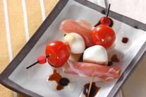 トマト&チーズ串