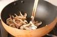 青菜の二色ゴマ和えの作り方2