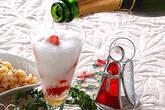 シャンパンカクテルの作り方1