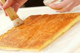 季節のフレッシュフルーツロールケーキの作り方14