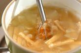 ジャガイモと油揚げの合わせみそ汁の作り方2