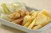 ジャガイモと油揚げの合わせみそ汁の作り方の手順1
