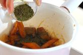 ゴボウの煮物青のり風味の作り方3
