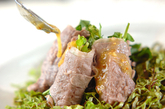 牛しゃぶの野菜巻きの作り方3