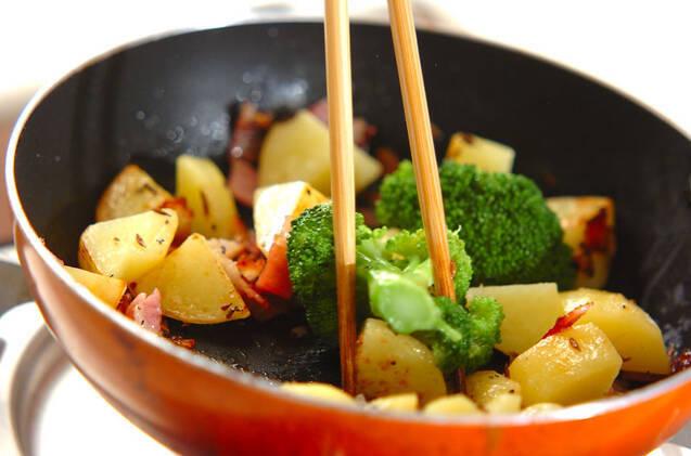 クミン風味のポテトサラダの作り方の手順5