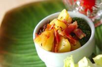 クミン風味のポテトサラダ