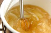 くずし豆腐のゴマみそ汁の作り方1