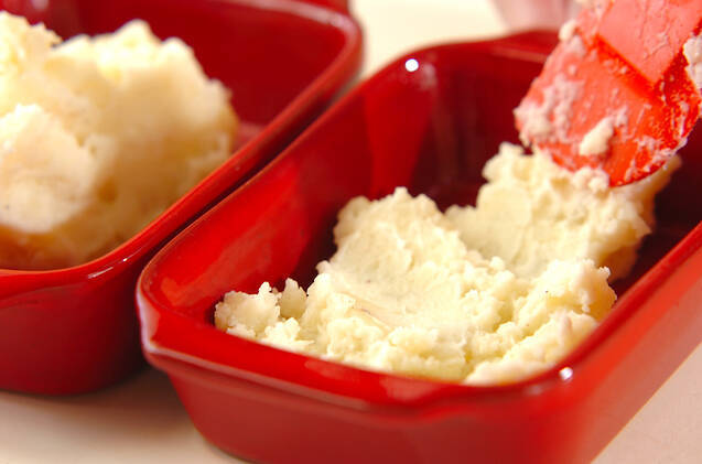 タラとマッシュポテトのグラタンの作り方の手順7