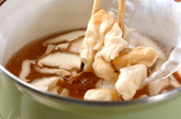 鶏ささ身のたたき汁の作り方1