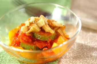 夏野菜のナスドレッシング