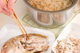 鯛ご飯の作り方7