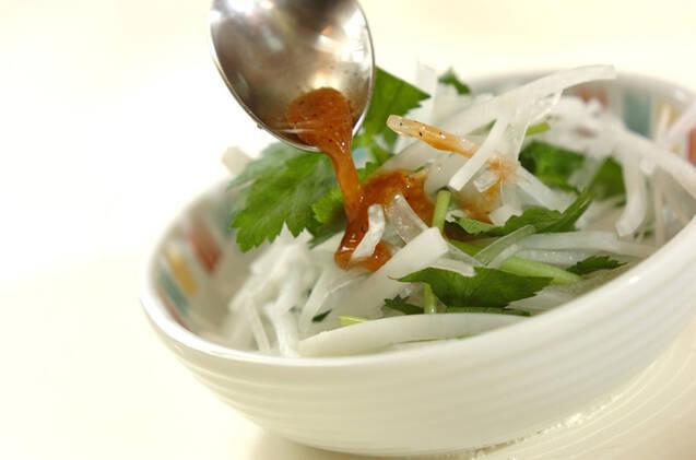 大根のおかかサラダの作り方の手順4