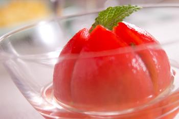冷製デザートトマト