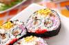 スマイル巻き寿司の作り方の手順