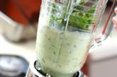 バナナとホウレン草のジュースの作り方2