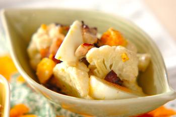 カリフラワーと卵のサラダ
