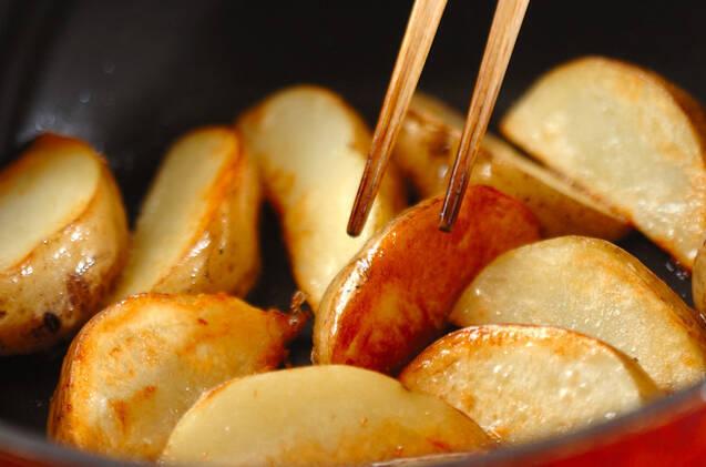 ホクホクジャガイモのチーズ焼きの作り方の手順3