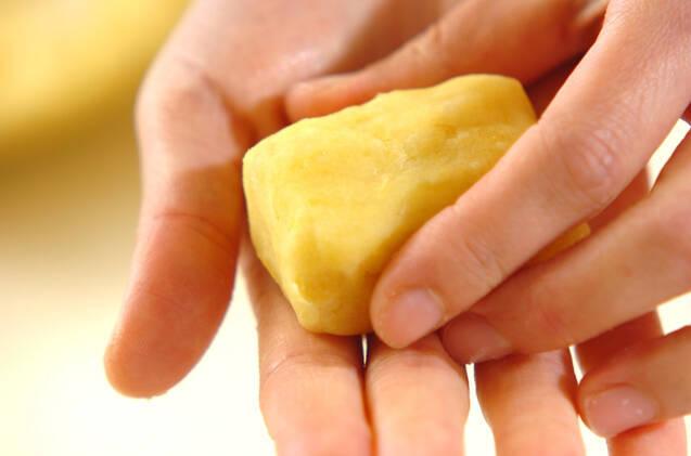 サツマイモきんつばの作り方の手順3