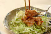 ネギしょうゆ揚げ鶏の作り方6