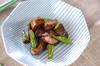 ナスのウスターソース炒めの作り方の手順