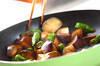 ナスのウスターソース炒めの作り方の手順4
