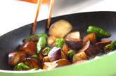 ナスのウスターソース炒めの作り方4