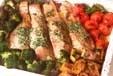 鮭のガーリックバター焼の作り方4