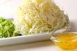 キャベツのユズ甘酢の作り方の手順1