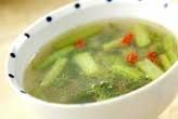 カブの葉スープ