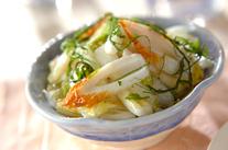 白菜とちくわのサッパリ和え
