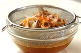 ゼンマイの炊き込みご飯の作り方2