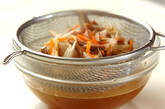 ゼンマイの炊き込みご飯の作り方7