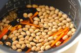 大豆とヒジキの炊き込みご飯の作り方1